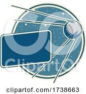 Space Exploration Satellite Sputnik