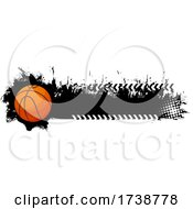 Basketball Grunge Design
