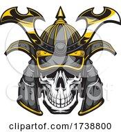 Samurai Skull by Vector Tradition SM