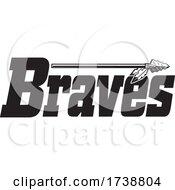Poster, Art Print Of Braves Native American Logo