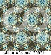 Decorative Detailed Ethnic Style Pattern
