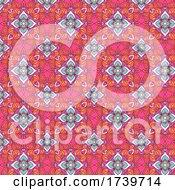Elegant Seamless Tiled Pattern Background