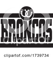 Horseshoes And BRONCOS Team Text