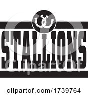 Horseshoes And STALLIONS Team Text