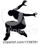 03/13/2021 - Street Dance Dancer Silhouette