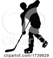 03/14/2021 - Ice Hockey Player Silhouette