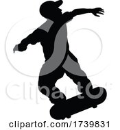 03/14/2021 - Silhouette Skater Skateboarder