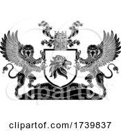 03/14/2021 - Crest Lion Griffin Coat Of Arms Griffon Shield