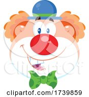 Poster, Art Print Of Happy Clown Face