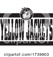Head And YELLOW JACKETS Team Text