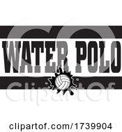 Ball And WATER POLO Text