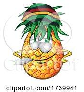 Jamaican Rasta Pineapple Smoking A Doobie