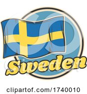 Swedish Flag Design by Vector Tradition SM