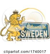 Swedish Lion Design