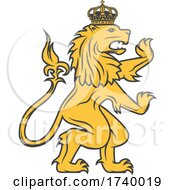 Swedish Lion Design by Vector Tradition SM