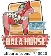 Swedish Dalla Horse Design