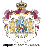 Swedish Greater Coat Of Arms Design by Vector Tradition SM