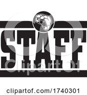 Black And White Talon STAFF Design