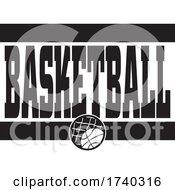 Black And White Basketball Sports Design