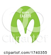 Simple Happy Easter Background