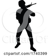 03/25/2021 - Soldier Detailed High Quality Silhouette