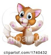 Cat Cartoon Pet Kitten Cute Animal Character