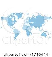 03/25/2021 - Octagons Flat Map World Background