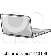 Poster, Art Print Of Cartoon Laptop