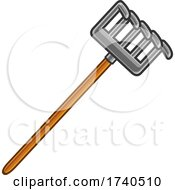 Cartoon Garden Rake