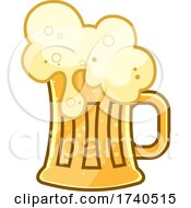 Foamy Beer In A Mug