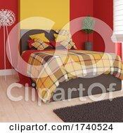 3D Modern Bedroom Interior