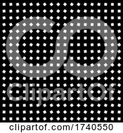 03/28/2021 - 2d Monochromatic Black And White Abstract Optical Illustion Pattern