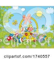 03/30/2021 - Basket Of Easter Eggs