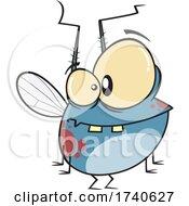 Cartoon Chubby Fly