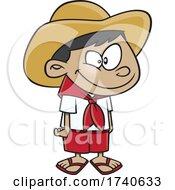 Cartoon Fillipino Boy