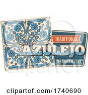Traditional Azulejo Portguese Tile