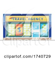 Travel Agency Building Storefront