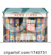 News Stand Building Storefront