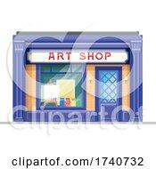 Art Shop Building Storefront