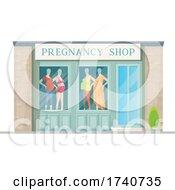 Pregnancy Building Storefront