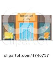 Furniture Store Building Storefront