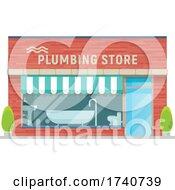 Plumbing Building Storefront