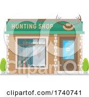 Hunting Shop Building Storefront