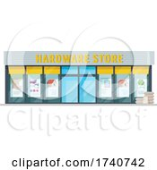 Hardware Store Building Storefront