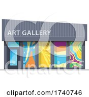 Art Gallery Building Storefront