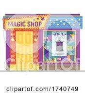 Magic Shop Building Storefront