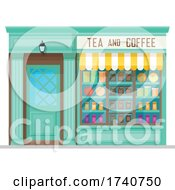 Tea And Coffee Building Storefront