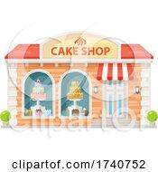 Cake Shop Building Storefront