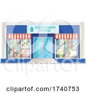 Stationery Store Building Storefront