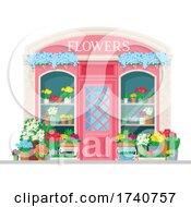 Flower Building Storefront